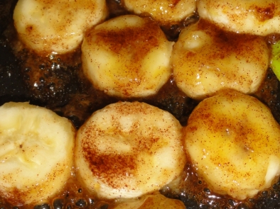 Pan Fried Bananas