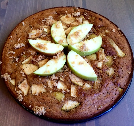 Gluten Free Cinnamon Apple Cake