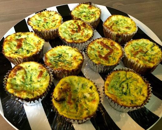 Zucchini Egg Muffins